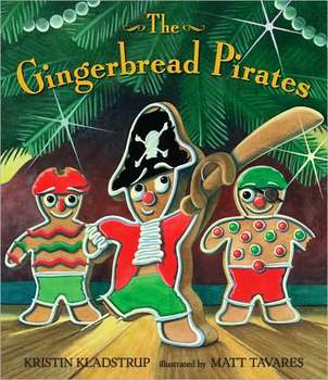 Gingerbread Pirates Tiered Flip Book