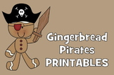 Gingerbread Pirates Unit for December - Preschool, Kindergarten, 1st, 2nd