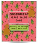 Gingerbread Place Value Game