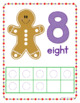 Gingerbread Math Activities | Gingerbread Fine Motor | Christmas Play Dough Mats