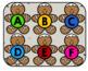 Gingerbread Playdough Mats (Letter Stamping)