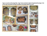 Gingerbread Playdough Mats and Poem Gift Tag