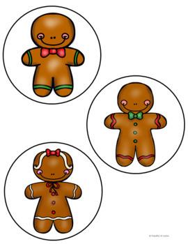 Gingerbread Pocket Chart