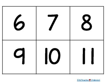 Gingerbread Pocket Chart Math