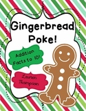Gingerbread Poke {Addition to 10}