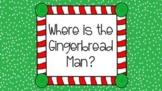 Gingerbread Positional Words Google Slides