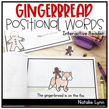 Gingerbread Positional Words Reader