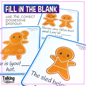 Gingerbread Possessive Pronouns Supplement