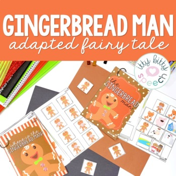 Gingerbread Preschool Language Unit