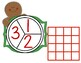 Gingerbread Preschool Spin and Count