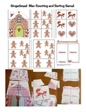 Gingerbread Preschool and Kindergarten Counting Game!