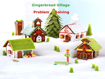 Gingerbread Problem Solving Village