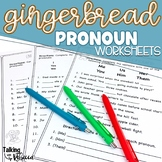 Gingerbread Objective and Subjective Pronoun Worksheets