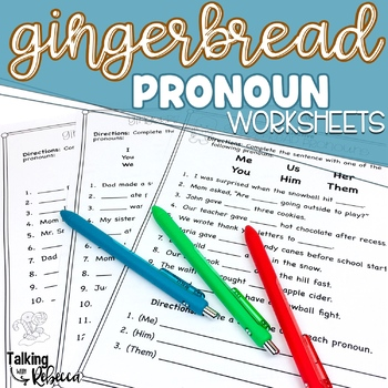 Objective And Subjective Pronouns Teaching Resources Teachers Pay