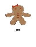 Gingerbread Pronouns