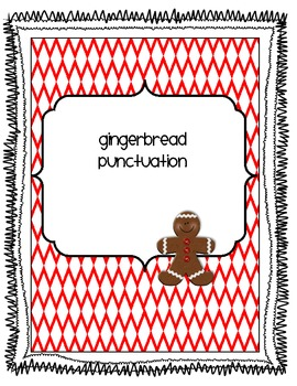 Gingerbread Punctuation