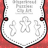 Gingerbread Puzzles: Clip Art