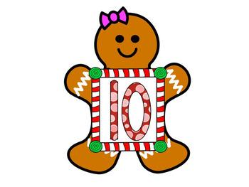 Gingerbread QR Code CVC Words