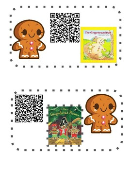 Gingerbread QR Read Alouds