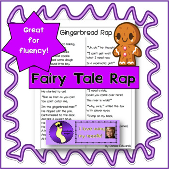 Gingerbread Rap Poetry and Literacy Fun