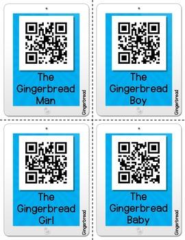 Gingerbread QR Code Listening Center