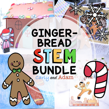 Gingerbread Read Aloud STEM Activities BUNDLE