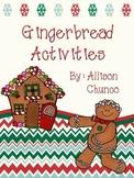 Gingerbread Reading Activities