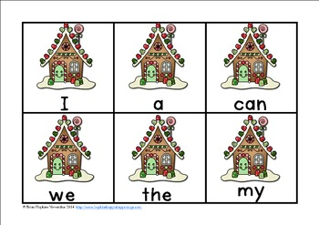 Gingerbread Reading and Math Centers for Kindergarten