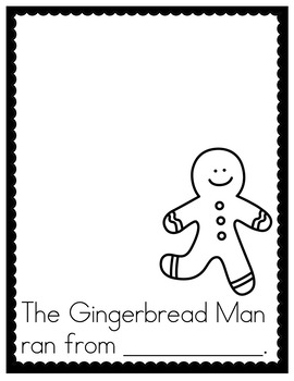 Gingerbread Reading and Writing Activities
