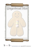 Gingerbread Recipe Writing Frame