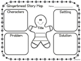 Gingerbread Retelling Pages