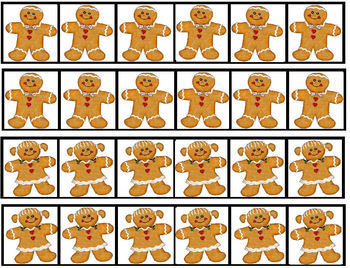 Gingerbread Review Cards