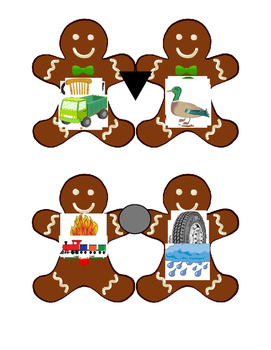 Gingerbread Rhyming