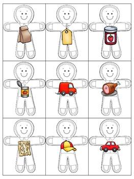 Gingerbread Rhyming Cards