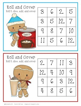 Roll and Cover - Winter Gingerbread