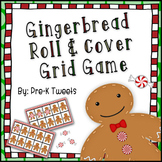 Gingerbread Roll and Cover Grid Game
