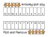 Gingerbread Roll and Remove - an addition math game