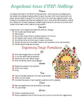 Gingerbread STEAM Challenge