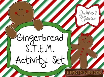 Gingerbread STEM Activities