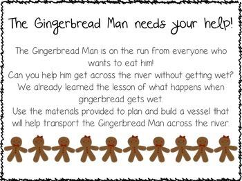 Gingerbread STEM Activities