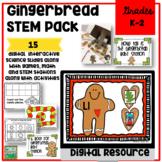 Gingerbread STEM Theme Pack