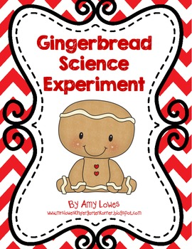 Gingerbread Science Experiment