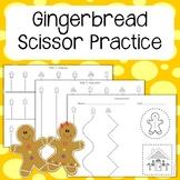 Gingerbread Scissor Practice