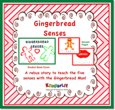 The Gingerbread Man Rebus Story