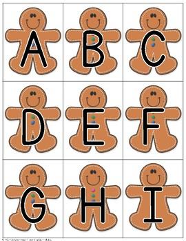 Gingerbread Sensory Writing Tray