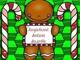 Gingerbread Sentence Scramble