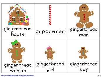 Gingerbread Sentences  {Pocket Chart Stations}