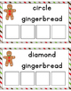 Gingerbread Shape Sorting