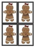 Gingerbread Short A Sort * Word Families