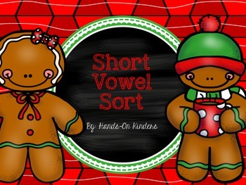 Gingerbread Short Vowel Sound Center